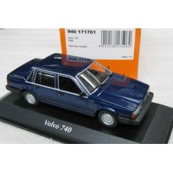 Volvo 760 Metallic Dark Blue 1986