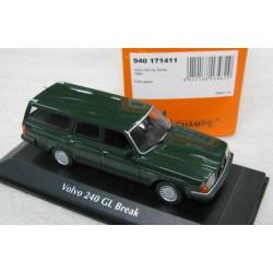 Volvo 240 GL Wagon Dark Green 1986