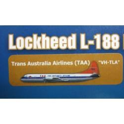 Lockheed L-188 Electra Trans Australia Airlines (TAA) VH-TLA 1959-71 scale 1/200