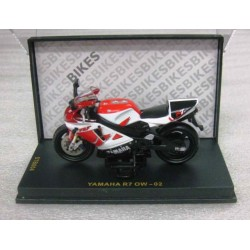 Yamaha YZF R7 OW-02 Red/White/Black scale 1/24