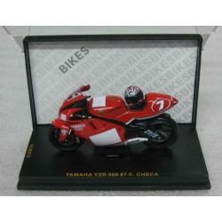 Yamaha YZR 500 #7 Carlos Checa 2001 scale 1/24