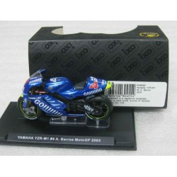 Yamaha YZR-M1 #4 Alex Barros  Moto GP 2003 scale 1/24