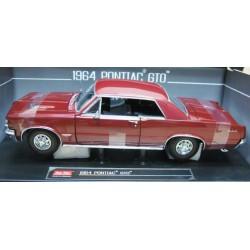 Pontiac GTO Hardtop Metallic Marimba Red 1964
