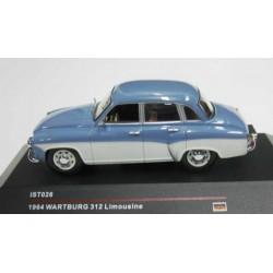 Wartburg 312 4 Door Sedan Blue Grey/White 1964