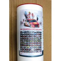 DJR/Penske 100 Race Wins 1981- 2018 Ltd Ed Poster Print
