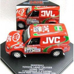 Toyota Land Cruiser #207 P. Wambergue/J.P. Cottret Paris-Grenada-Dakar 1998