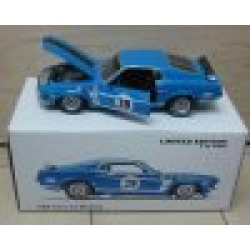 Ford Mustang Boss 302 #29 Trans Am Blue 1969 scale 1/18