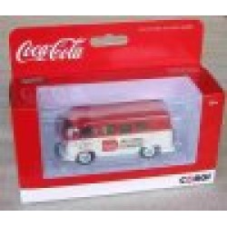 Volkswagen Campervan T1 Coca Cola Red/White Late 1960s Livery  scale 1/43