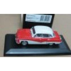 Wartburg A312 4 Door Sedan Coral Red/White 1958