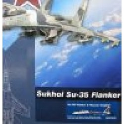 Sukhoi Su-35S Flanker E Russian Knights Russian Air Force 2019 scale 1/72