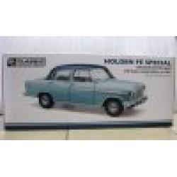 Holden FE Special Teal Blue over Elk Blue 1956