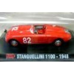 Stanguellini 1100 Red #82 Terigi/Berti 4th Mille Miglia 1948