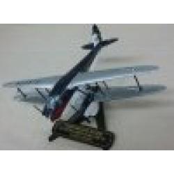 De Havilland 89 Dragon Rapide Army Parachute Association G-AGTM scale 1/72