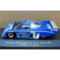 Rondeau M379C #8 Francois Migault/Gordon Spice 3rd Le Mans 1981