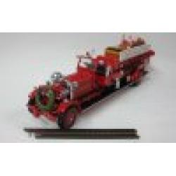 Ahrens-Fox Quad 1930 Christmas Holiday Edition - Front bumper missing & 1 ladder broken