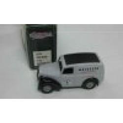Morris Z Van Mackeson Stout Glasgow Grey/Black 1950  scale 1/43